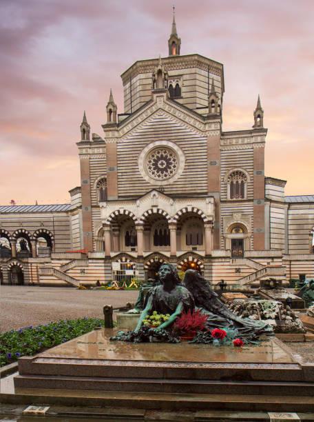 Monumentalfriedhof Mailand, Italien. – Foto