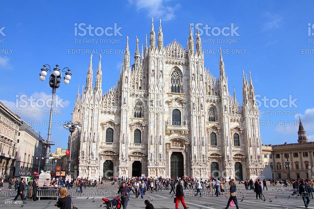 Milan, Italy stock photo