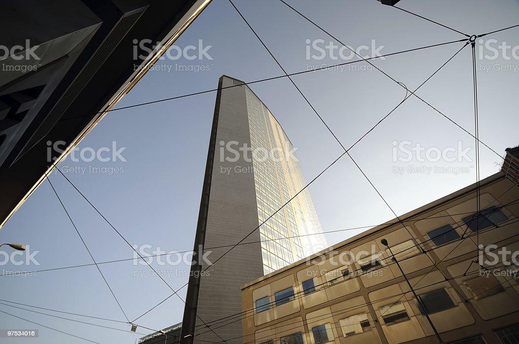 Milan skyscraper royalty-free stock photo