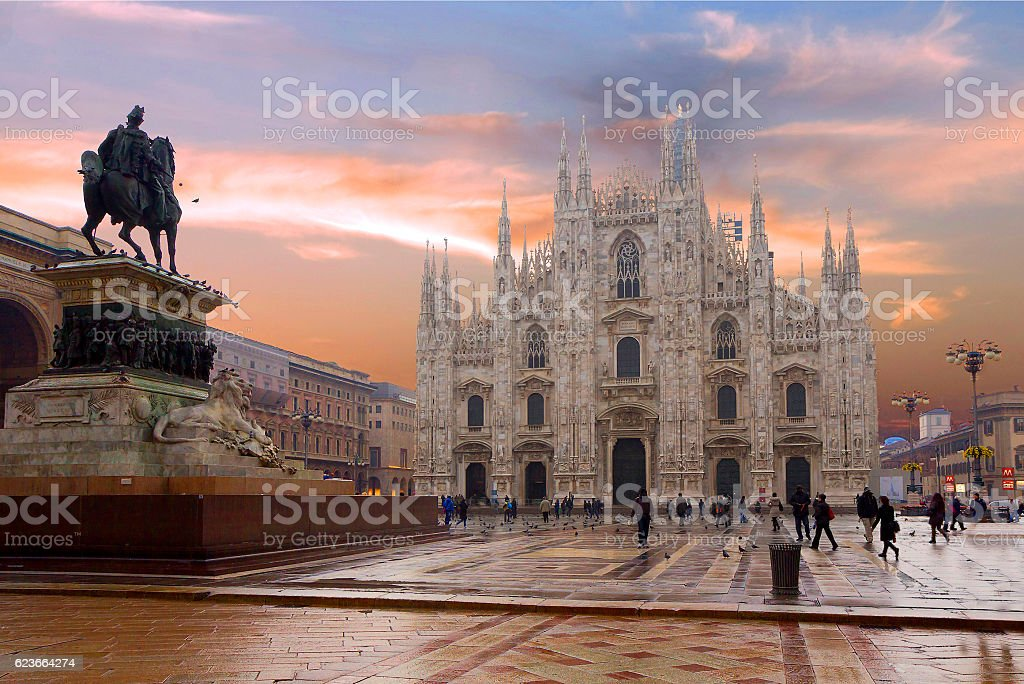 Milan. The Duomo. - Photo