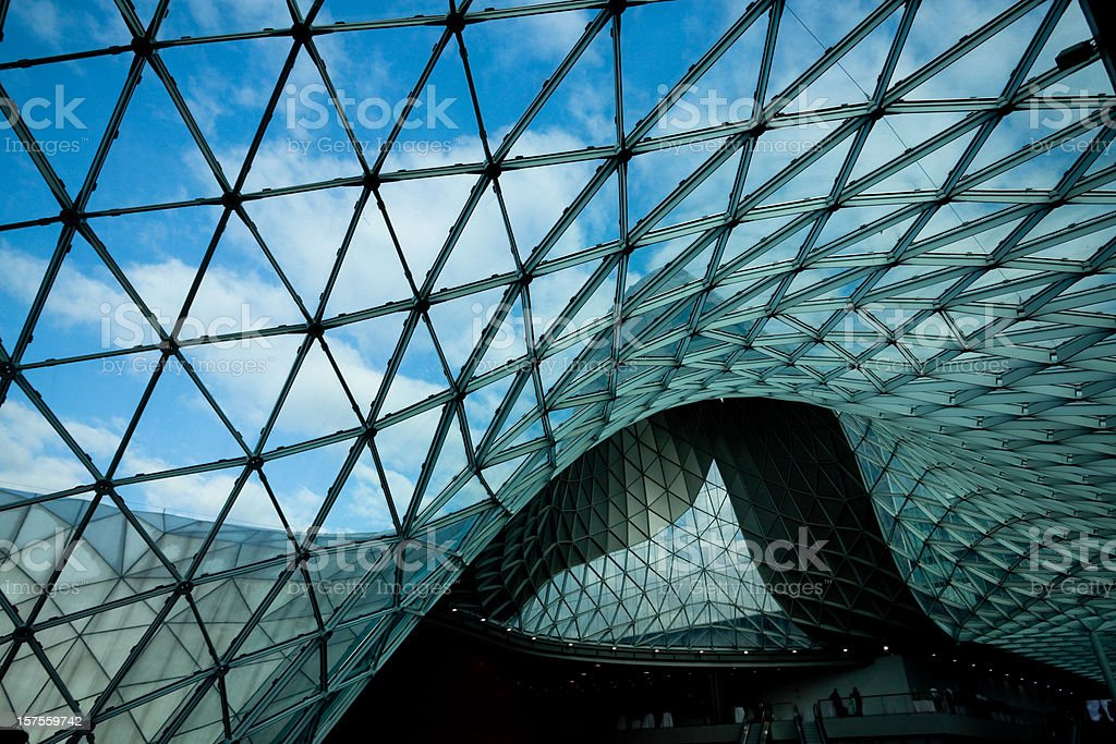Milano business center royalty-free stock photo