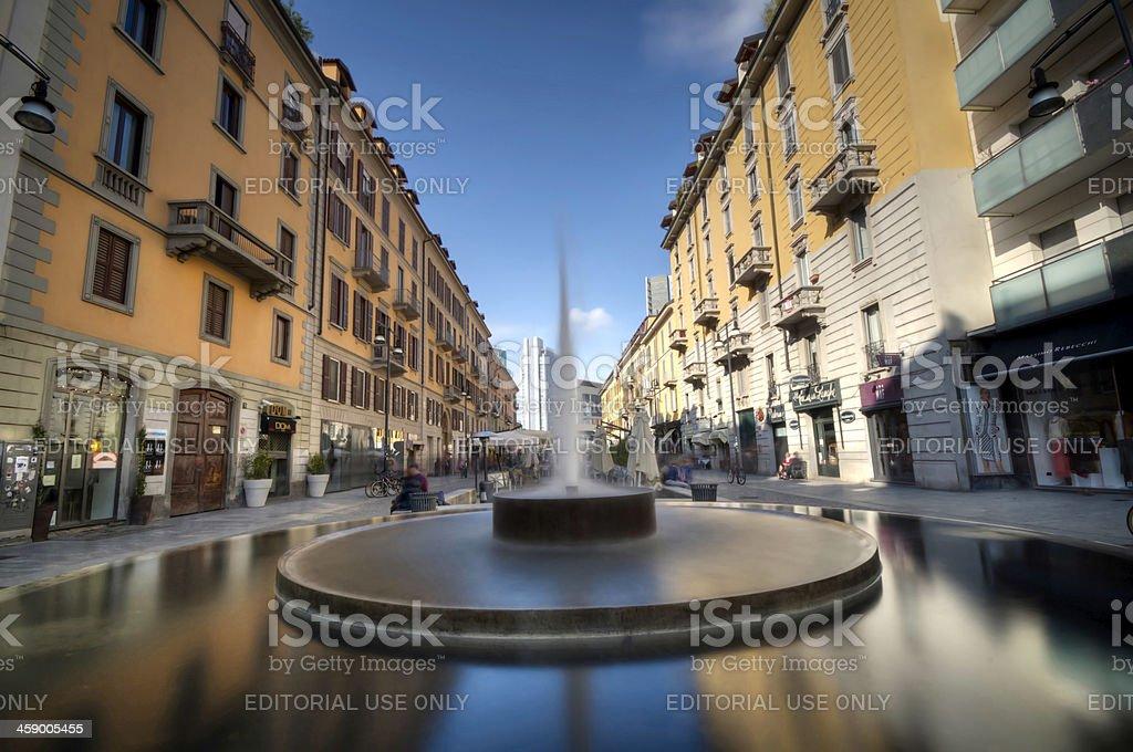 Milano, Corso Como royalty-free stock photo