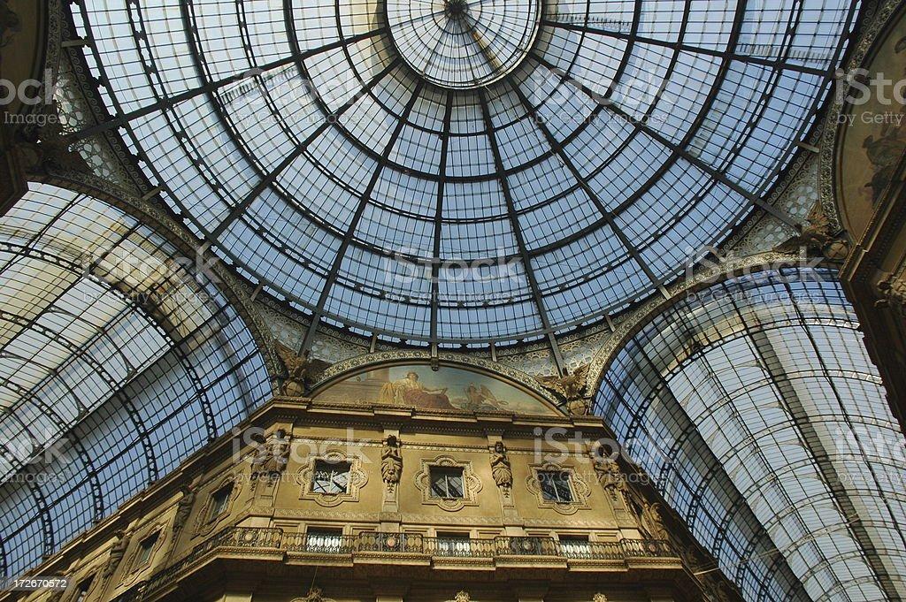 milano galleria royalty-free stock photo