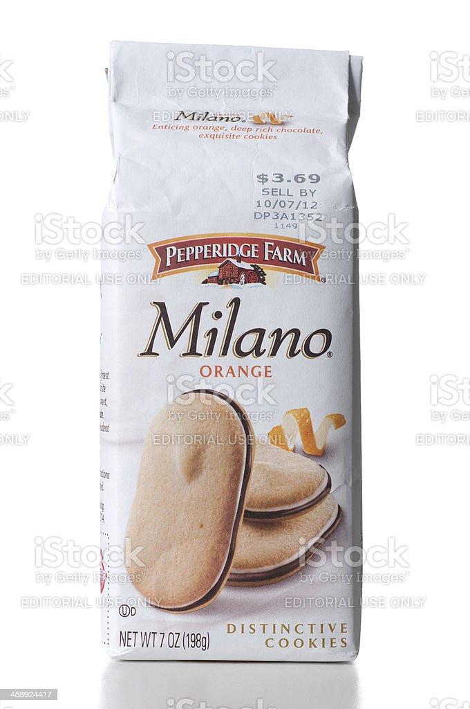 Milano Orange Distinctive Cookies Stock Photo Download Image Now Istock