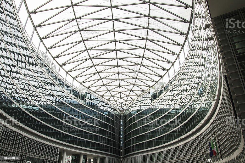 Milano, Palazzo della Regione Lombardia stock photo
