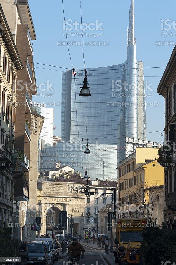 Milano Porta Nuova stock photo