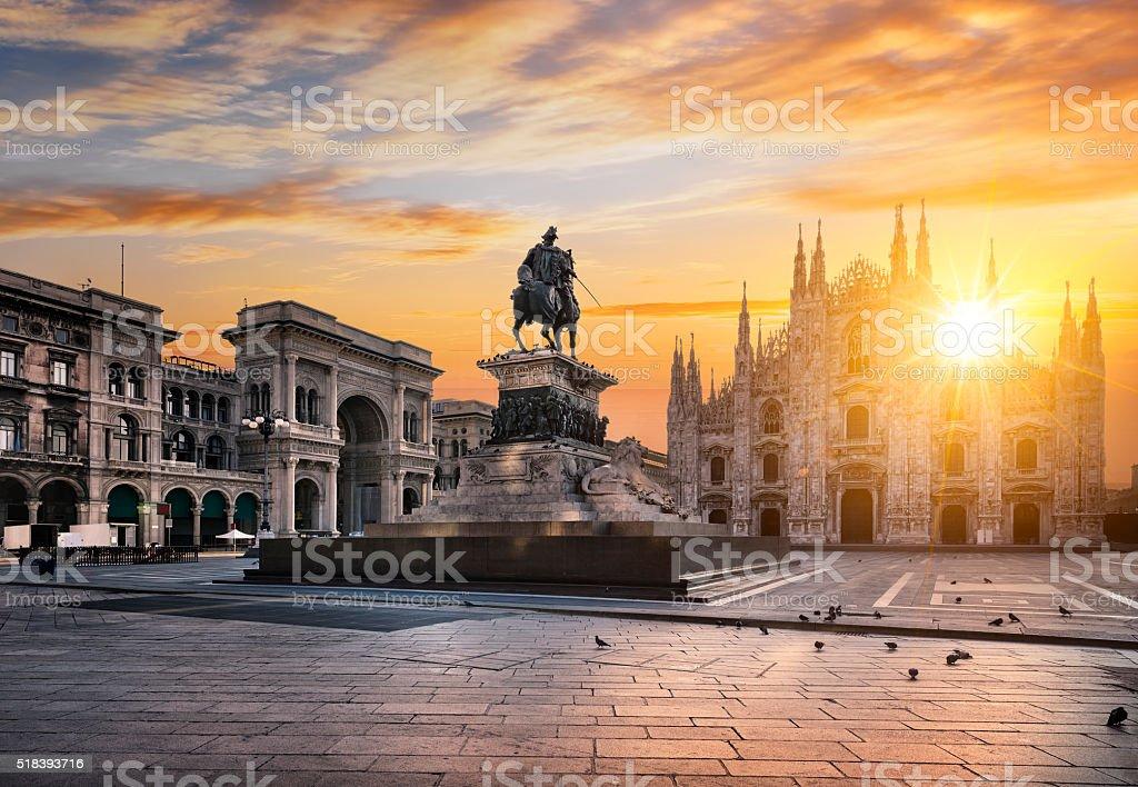 Milano spirito - foto stock