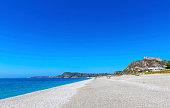 Milazzo beach, Sicily island, Italy