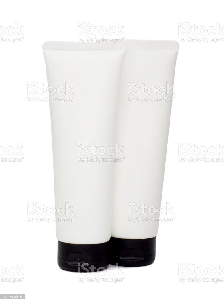 garrafa de plástico lavagem mildy isolada no fundo branco. - Foto de stock de Amor royalty-free