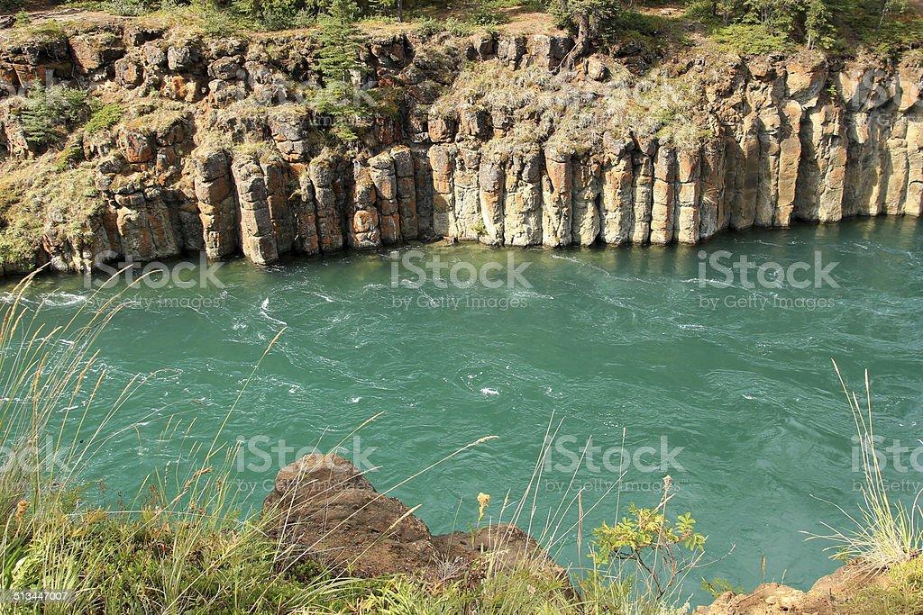 Miles Canyon stock photo