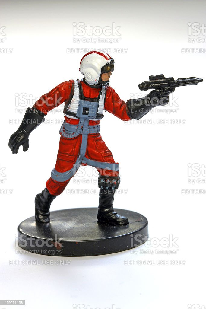 Militant Skywalker stock photo