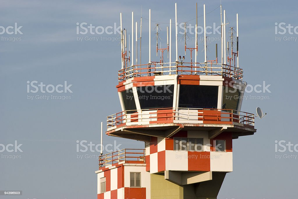 militar tower control royalty-free stock photo