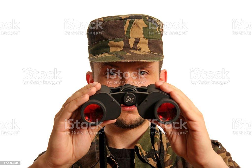 Militarian 3 royalty-free stock photo