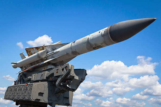 Military Air Missile stock photo