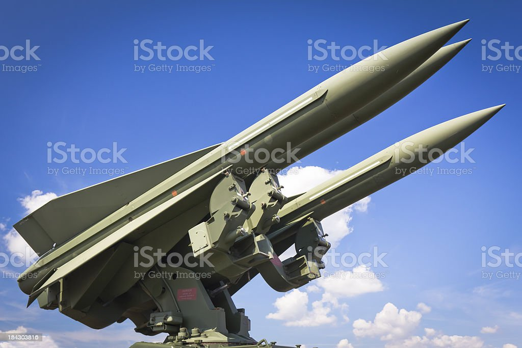 Military Air Missiles stock photo