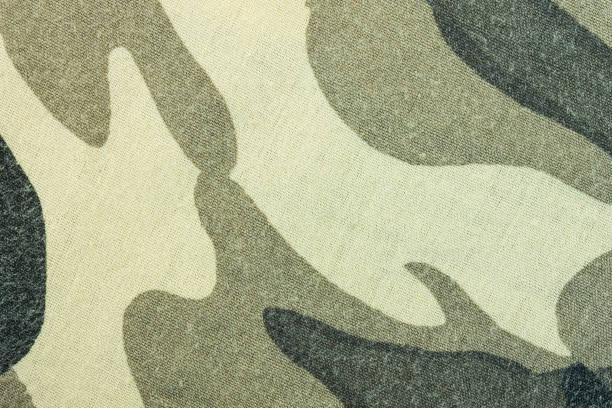 military army camouflage fabric texture pattern background for design - kamuflaż zdjęcia i obrazy z banku zdjęć