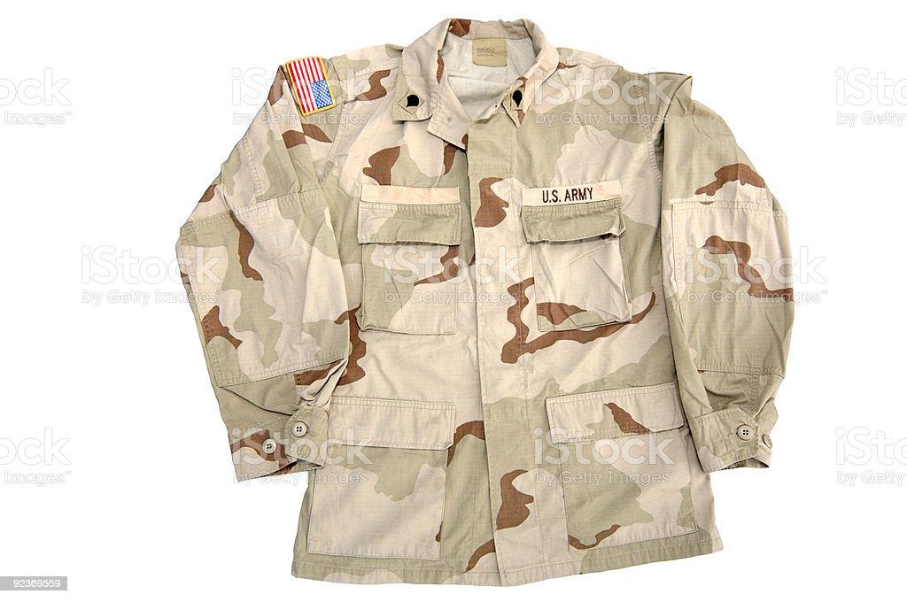 Militär-Army-Shirt Lizenzfreies stock-foto