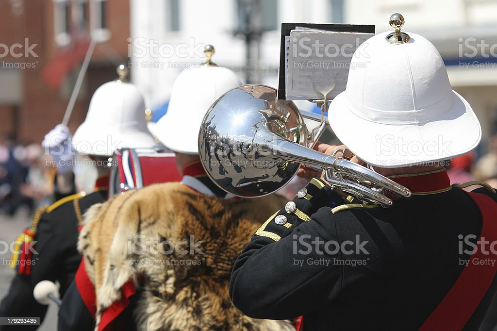 Military Band stock photo