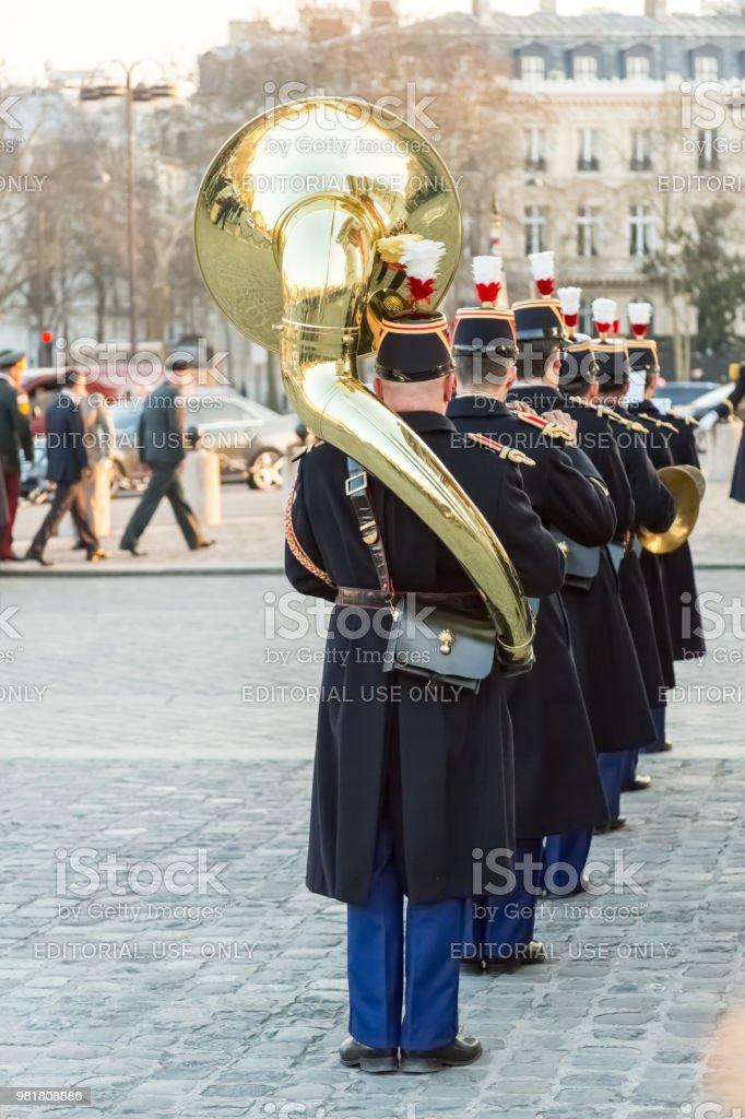 Askeri bir grup stok fotoğrafı