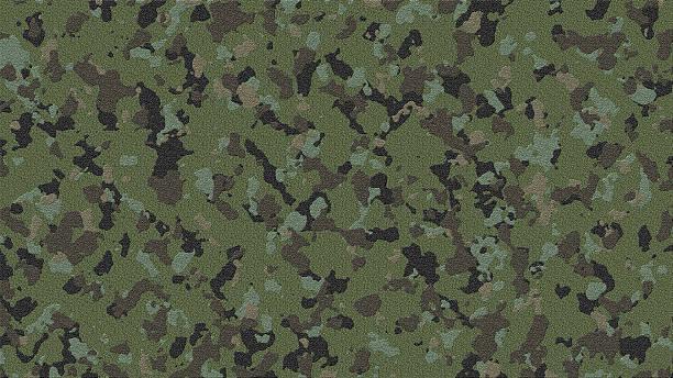 military camouflage pattern. - flecktarn stock-fotos und bilder