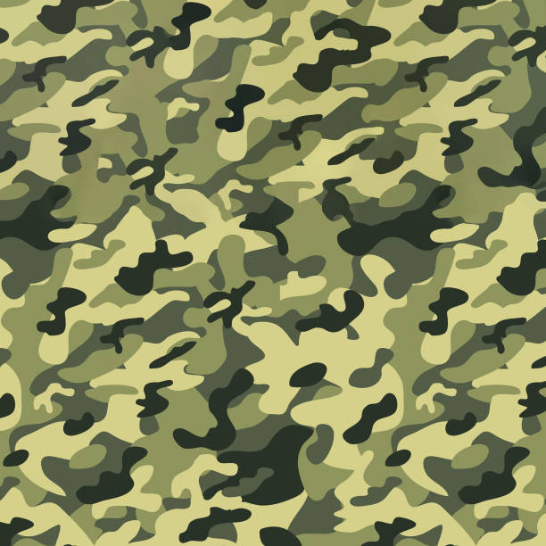 Military camouflage seamless pattern, texture. Abstract army and hunting masking ornament Military camouflage seamless pattern, texture. Abstract army and hunting masking ornament. camouflage stock pictures, royalty-free photos & images