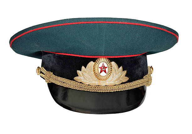 military cap  uniform cap stock pictures, royalty-free photos & images