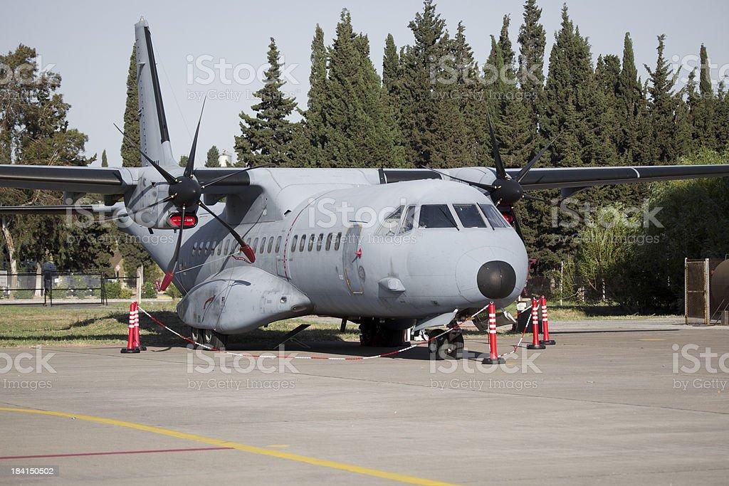 Military Cargo Plane royalty-free stock photo
