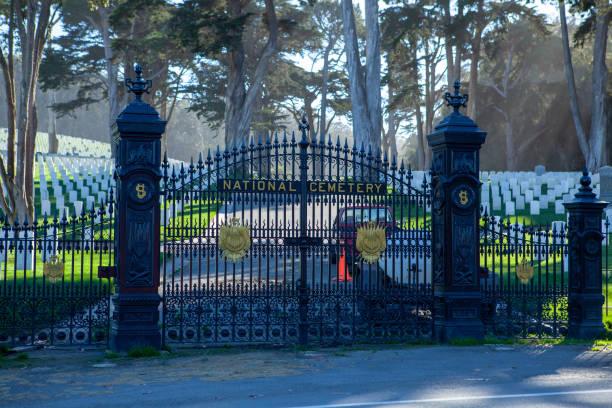 Military cemetery - foto stock
