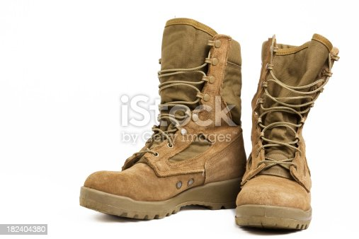 These are combat boots for feet.