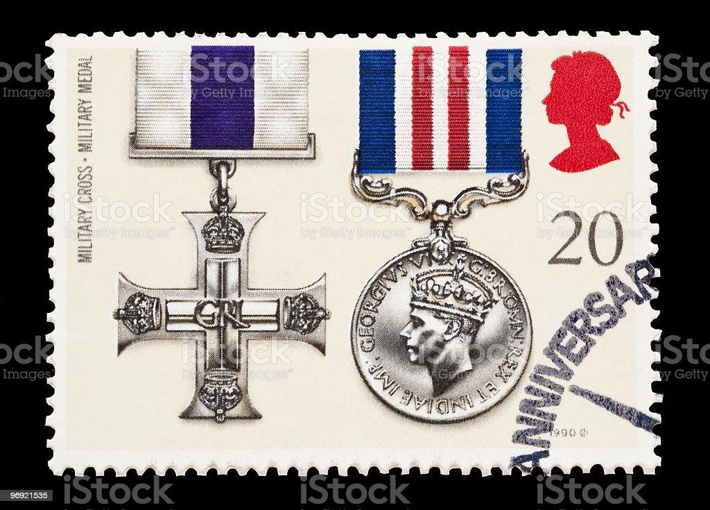military cross royalty-free stock photo