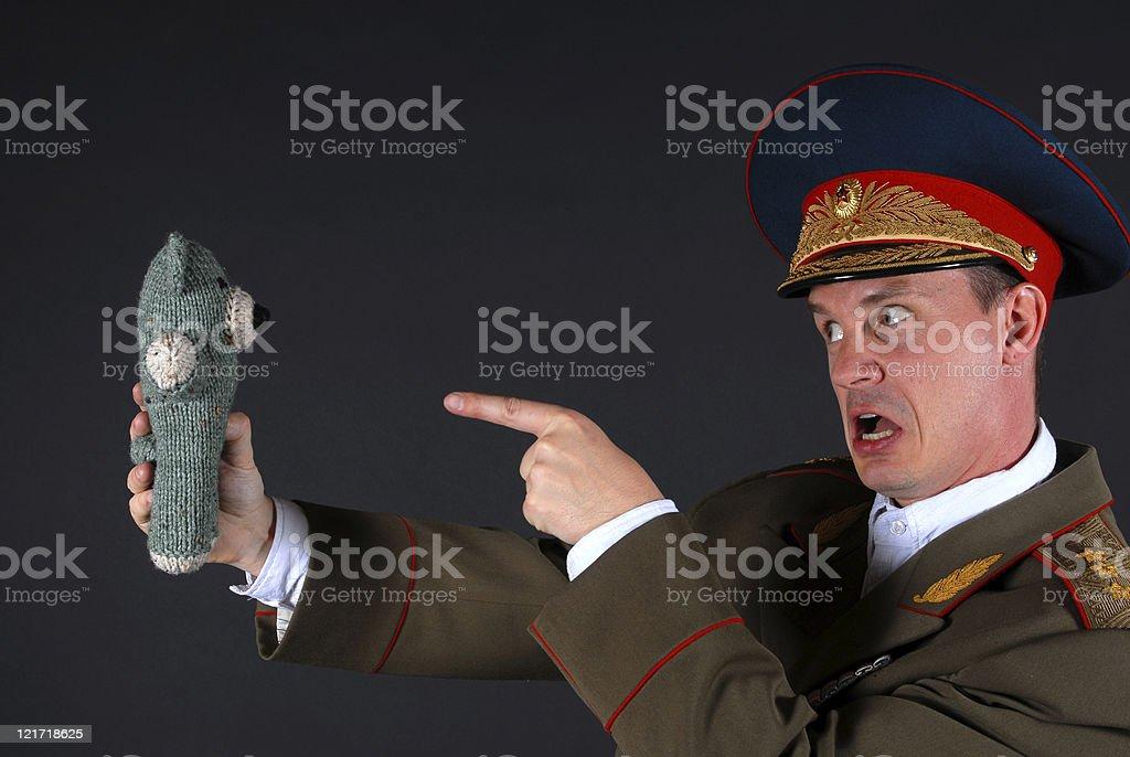 Military Discipline stock photo