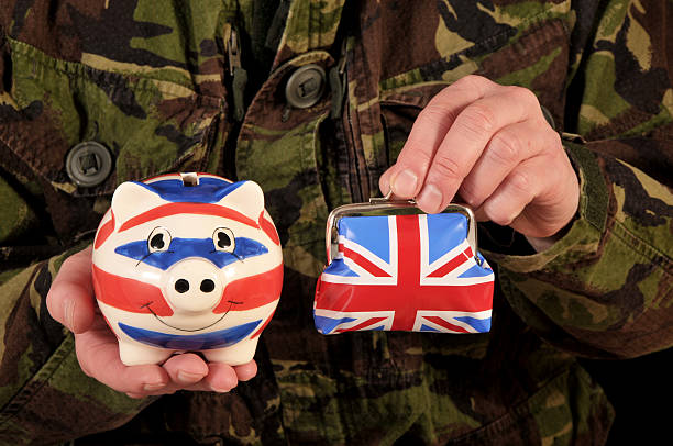uk military finances - uk military stock photos and pictures