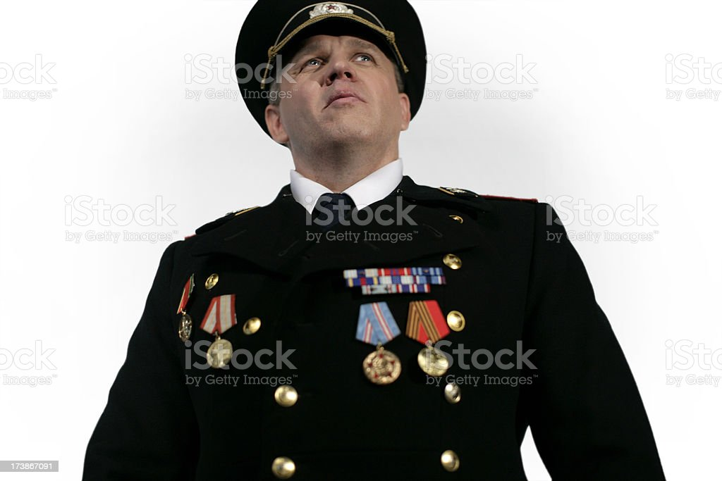 Military General stock photo