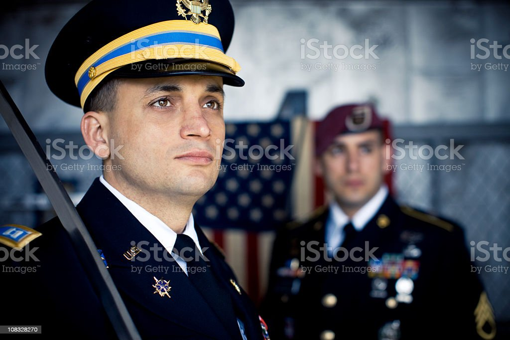 Military Honor royalty-free stock photo