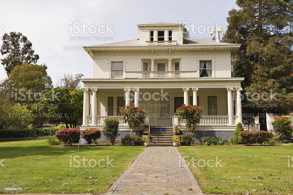 military housing at mare island california stock photo