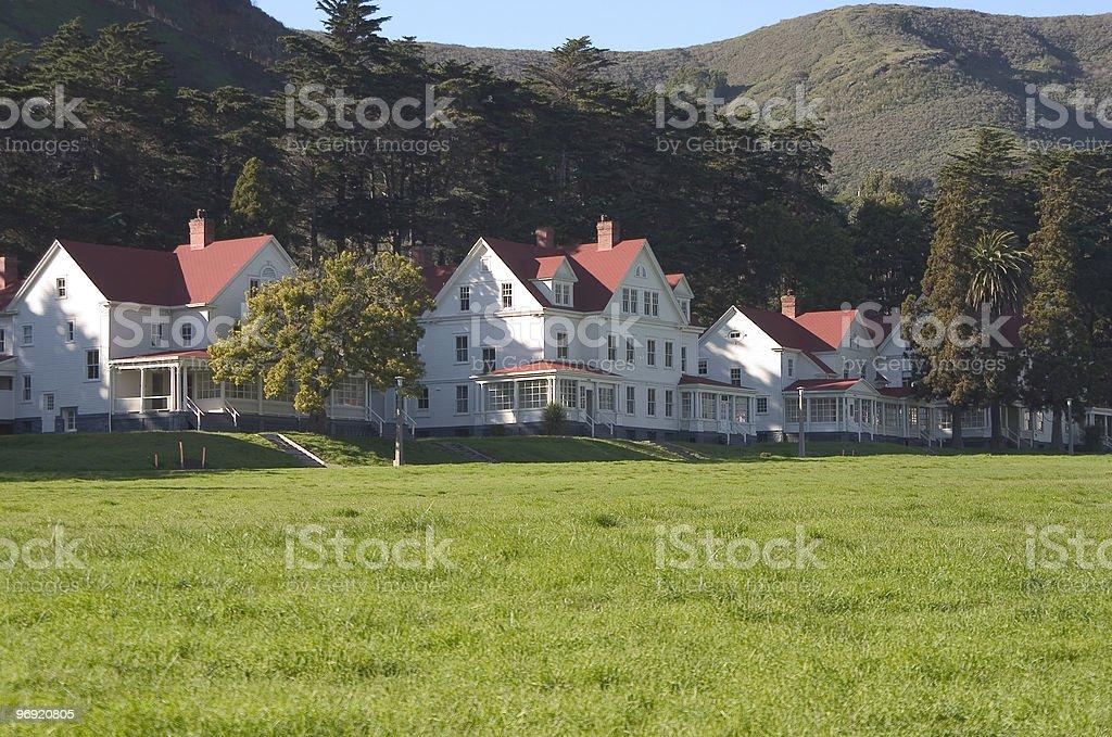 Military Housing #1 royalty-free stock photo