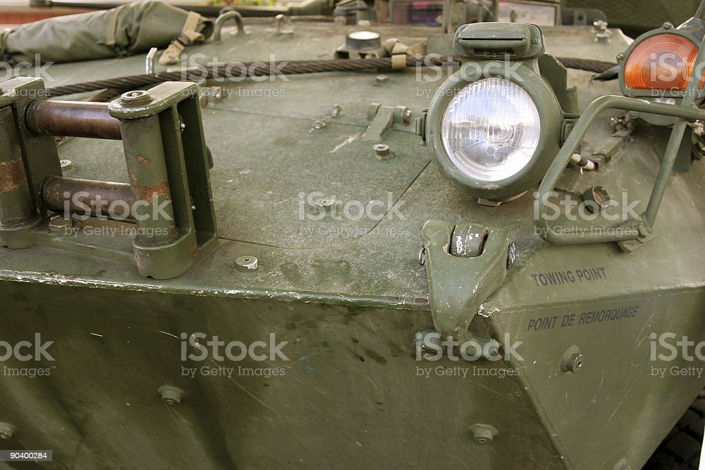 Military humvee stock photo