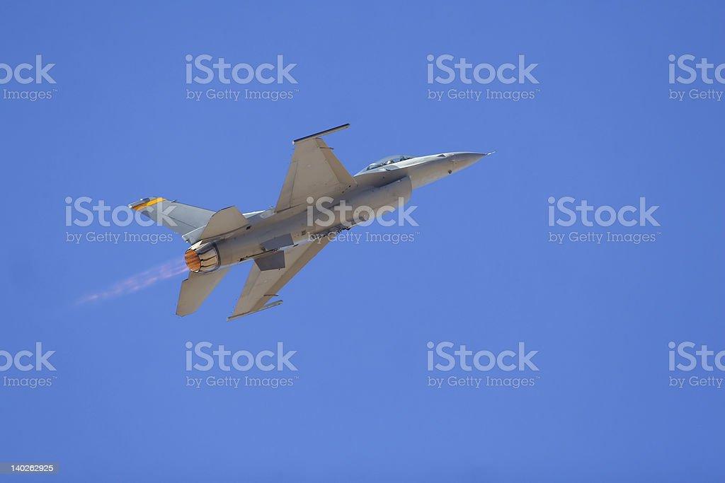 F16 Military Jet royalty-free stock photo