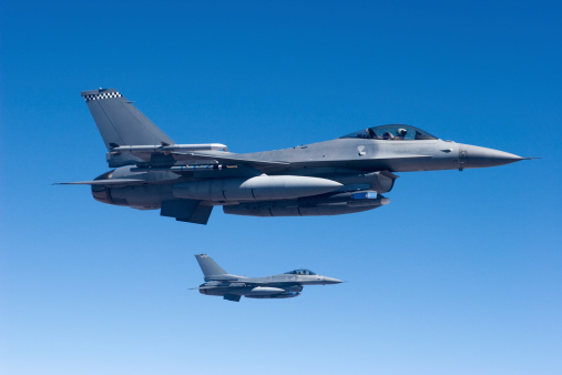 Military Jets In Flight Stock Photo - Download Image Now
