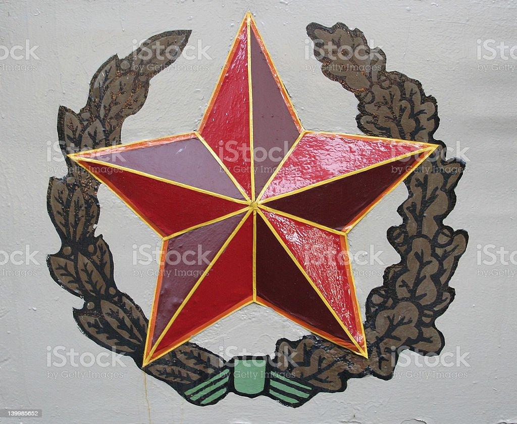 military logo royalty-free stock photo