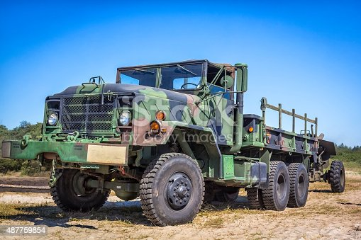 istock US Military M-923 A1 Truck 487759854