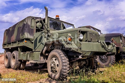 istock US Military M-923 A1 Truck 618418926