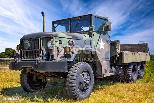 istock US Military M-923 A1 Truck 912603378