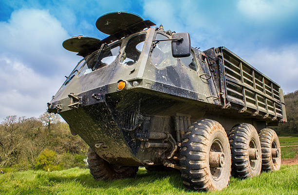 military machine alvis stalwart - uk military stock photos and pictures