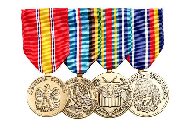 Militärische Medaillen – Foto