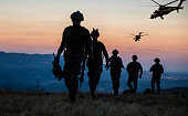 istock Military Mission at twilight 1273601403