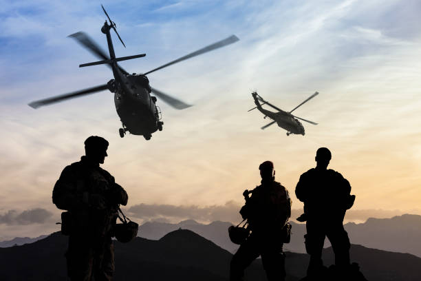Military Mission Military Mission armed forces stock pictures, royalty-free photos & images