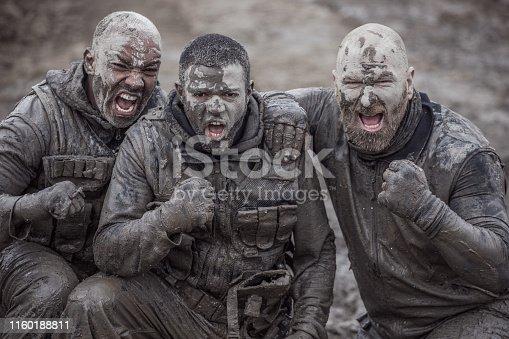 Military Mud Run Exercise