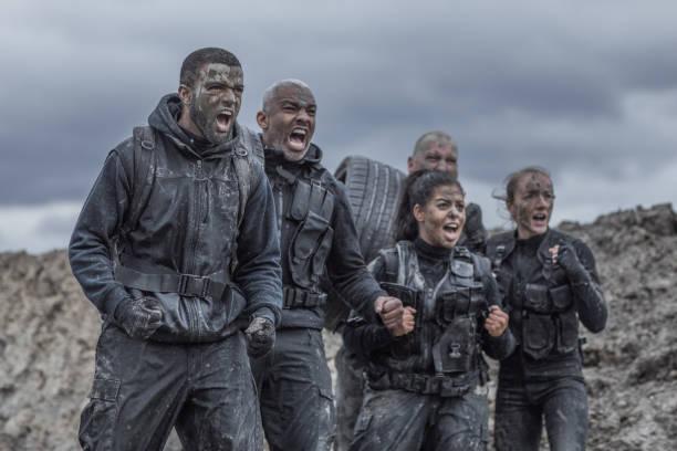 Military Mud Run Group – Foto