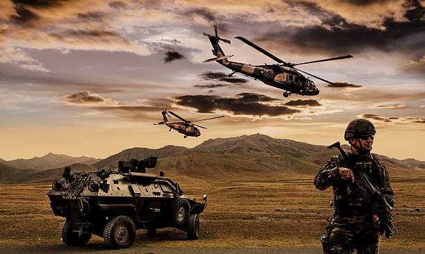 military operation - soldier stock photos and pictures